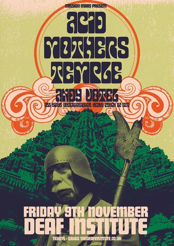 Image of Acid Mothers Temple - High Grade A2 poster