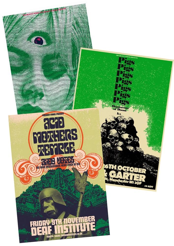 Image of A2 Gig Poster Bundle