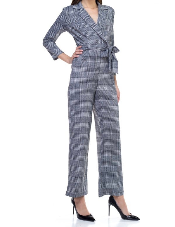 Image of All About Business Jumpsuit