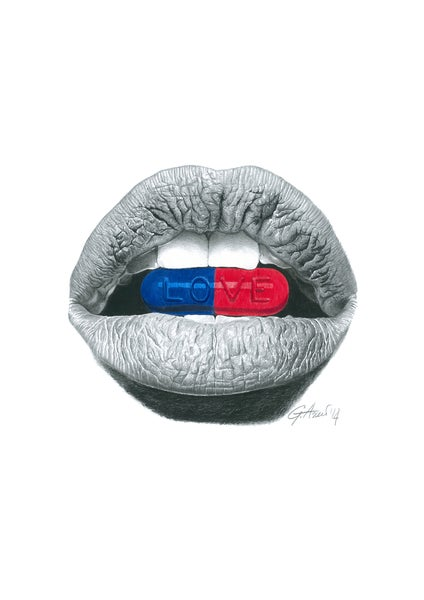 "Image of ""Love Pills"" Limited Edition Print"