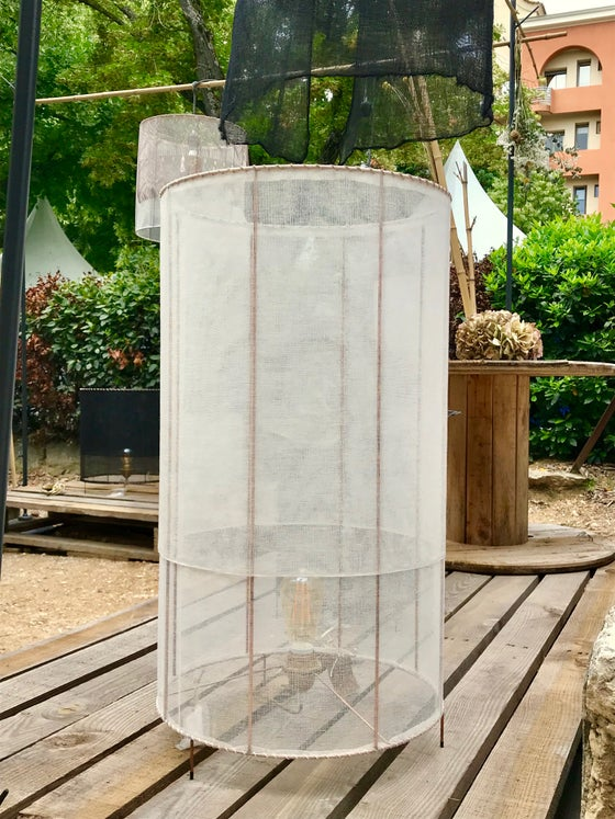 Image of Lampe à poser longue écrue Chérie Chérie
