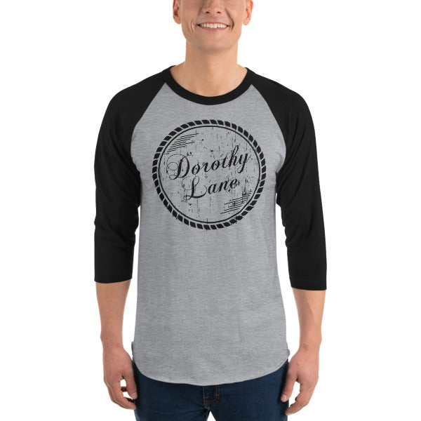 Image of Mens Baseball T 3/4 Sleeve