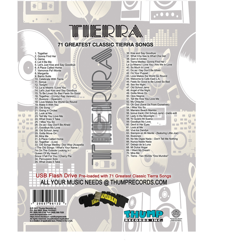 Image of Tierra Pre-Loaded Music USB