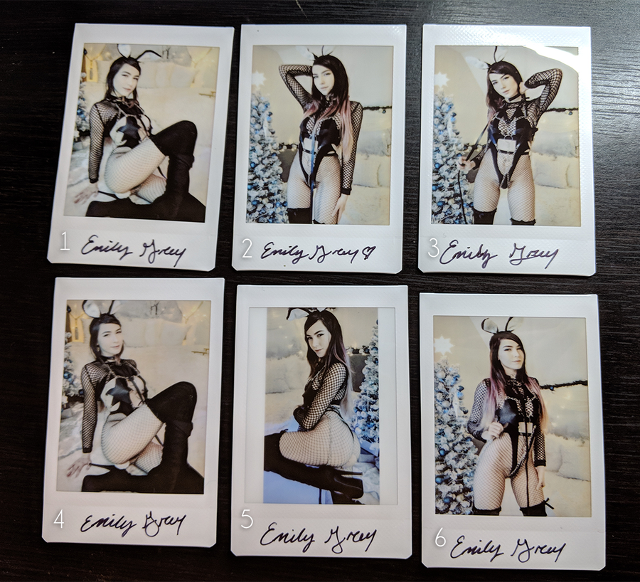 Image of BDSM Bunny Polaroids