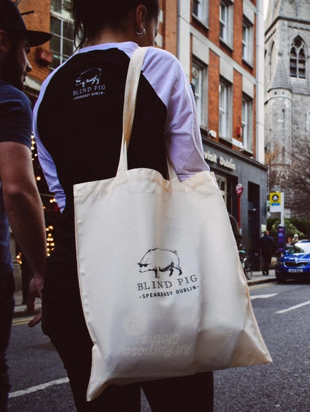 Image of Blind Pig Tote Bag