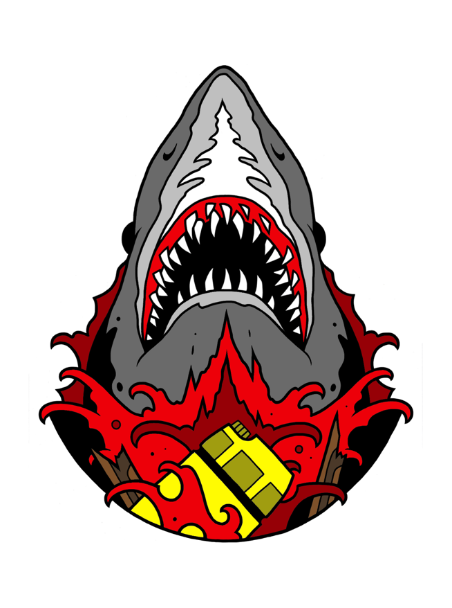 Image of You're Gonna Need A Bigger Boat by Creative Terror (Blood Variant)