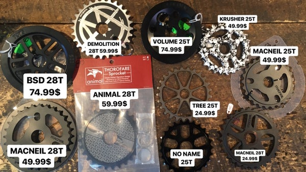 Image of BMX SPROCKETS