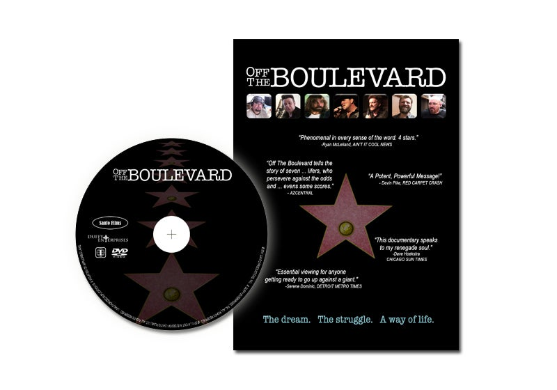 "Image of ""Off The Boulevard"" DVD"
