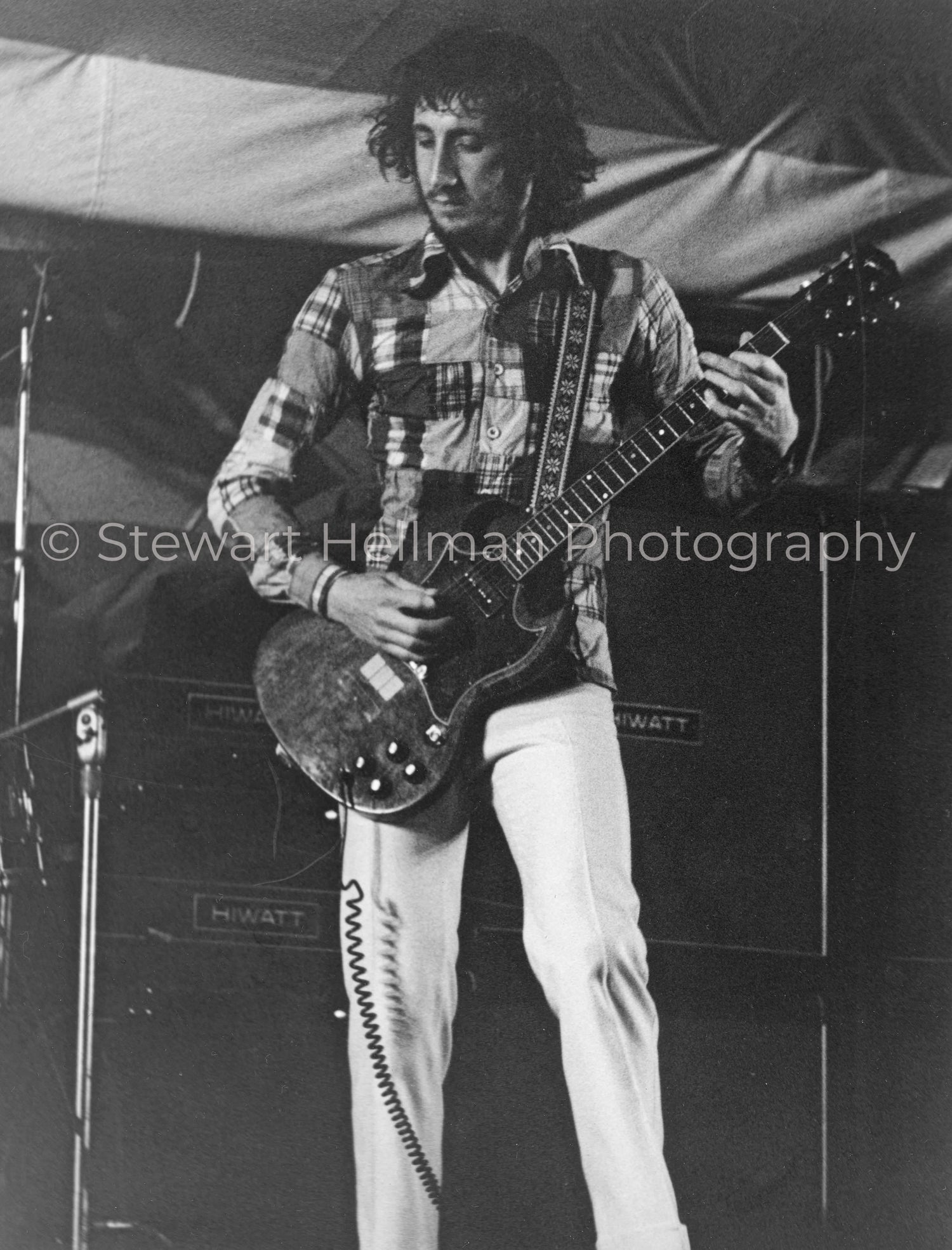 Image of Pete Townshend (The Who, Forest Hills Stadium, 1971) : Limited Edition Fine Art Print #1