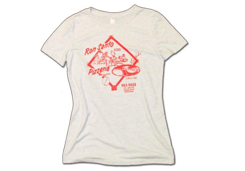 Image of Women's Ron Santo Pizzeria T-shirt
