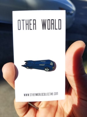 Image of Bat Mobile lapel pin