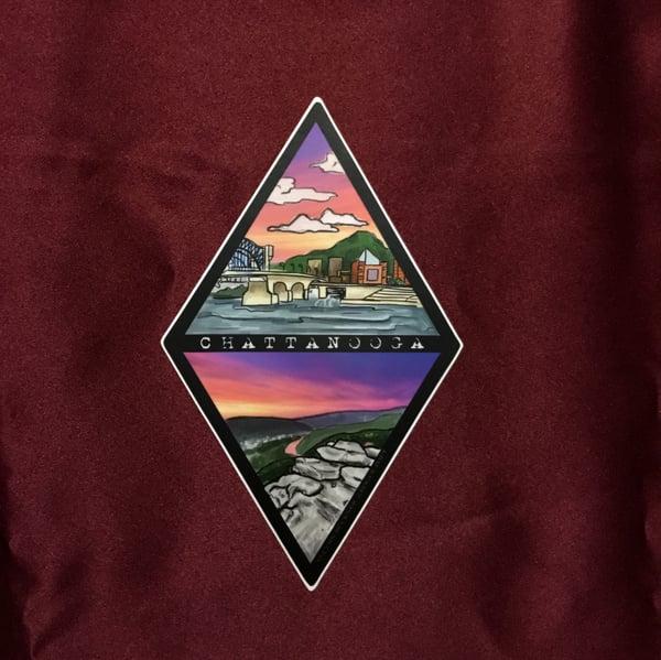 Image of Chattanooga Diamond Sticker