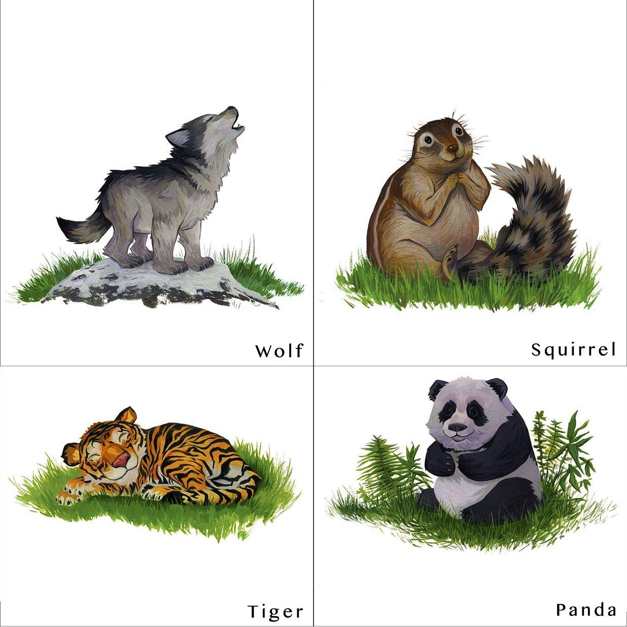 Image of Animal Friends Original Paintings