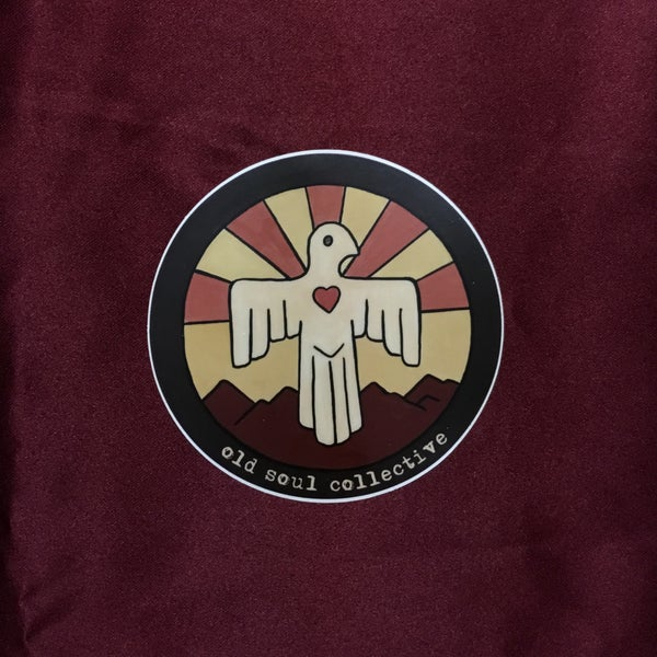 Image of Old Soul Collective LoveBird Logo Sticker