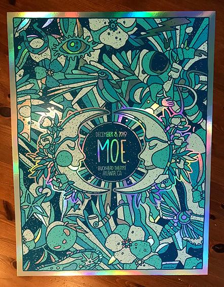 Image of MOE. Night 2 Rainbow Foil Variant 2018