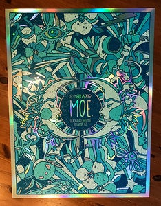 Image of MOE. Night 2 Rainbow Foil Variant 2018