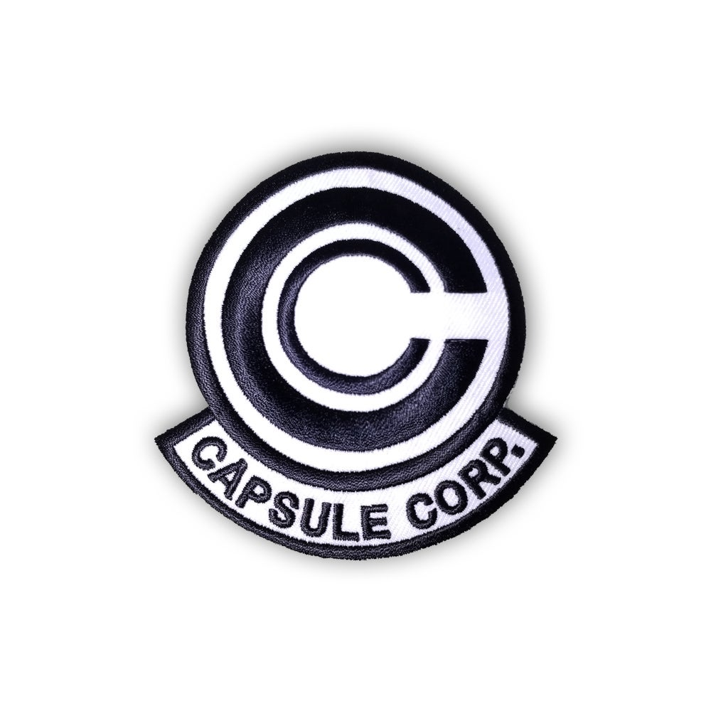 Image of Capsule Corp (Black and White) patch