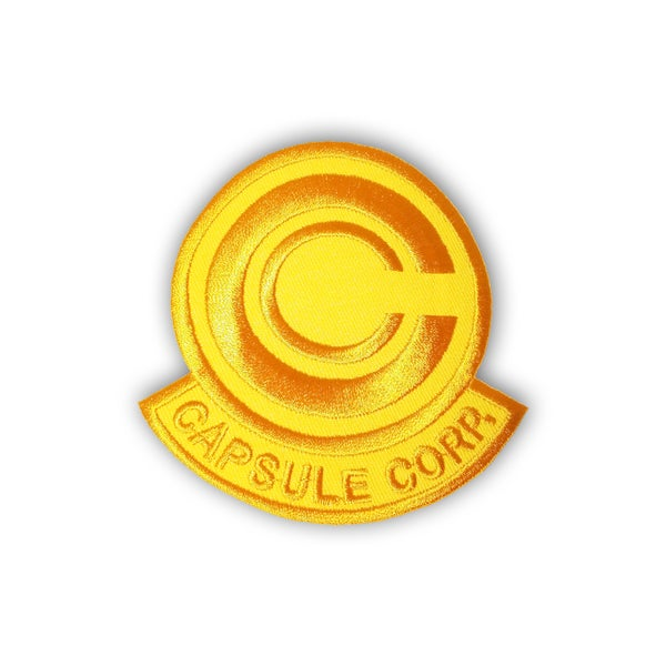 Image of Capsule Corp (Gold) patch
