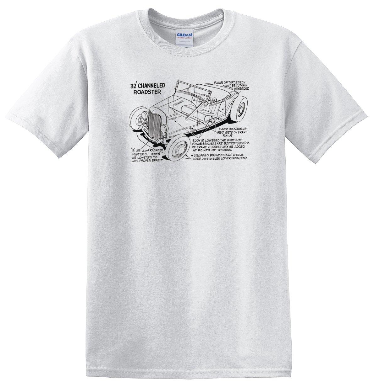 Channeled '32 Roadster Cutaway T-shirt