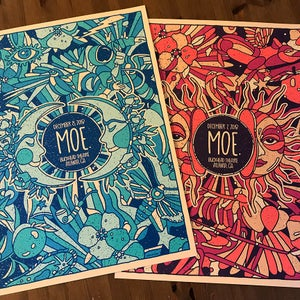 Image of MOE. 2 Night Poster Set ATL 2018