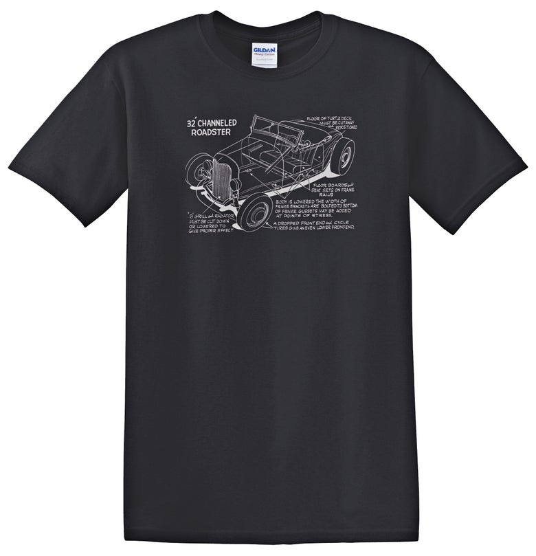 Image of Channeled '32 Roadster Cutaway T-shirt