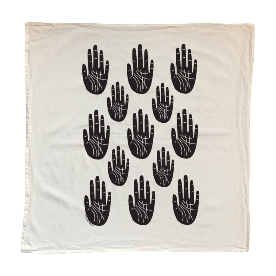 Image of Wise Palm Tea Towel