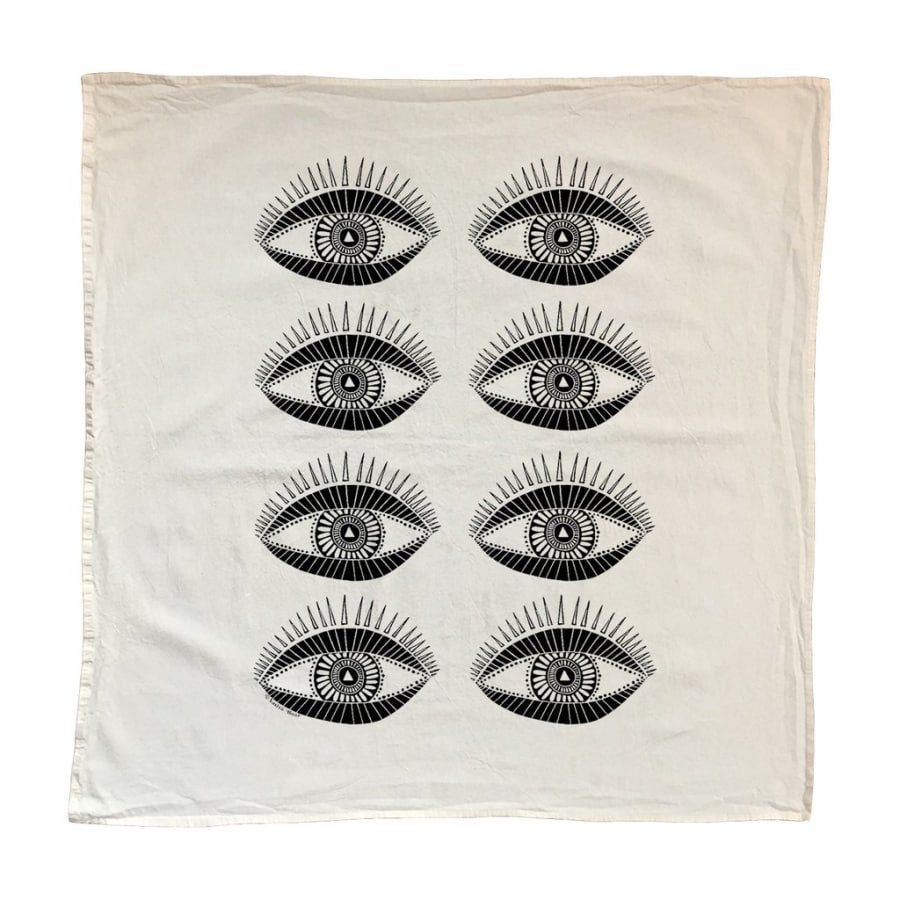 Image of Seeing Eye Tea Towel