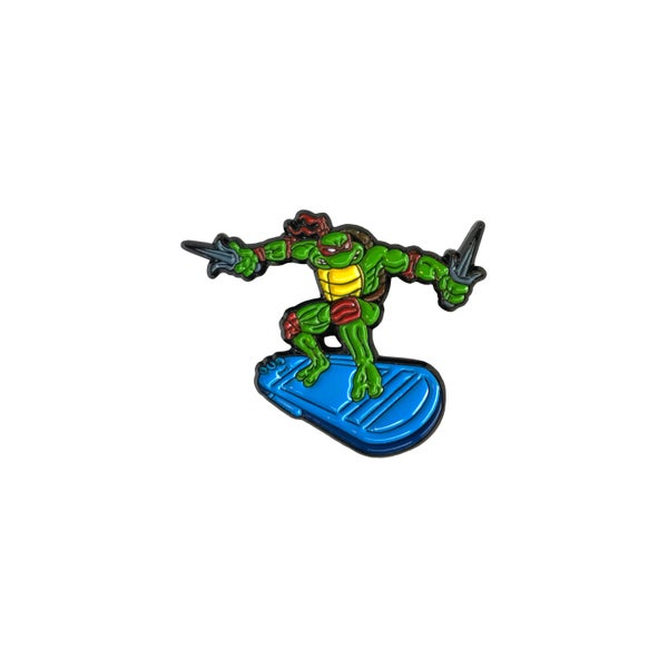 Image of Turtle Surver V3 lapel pin