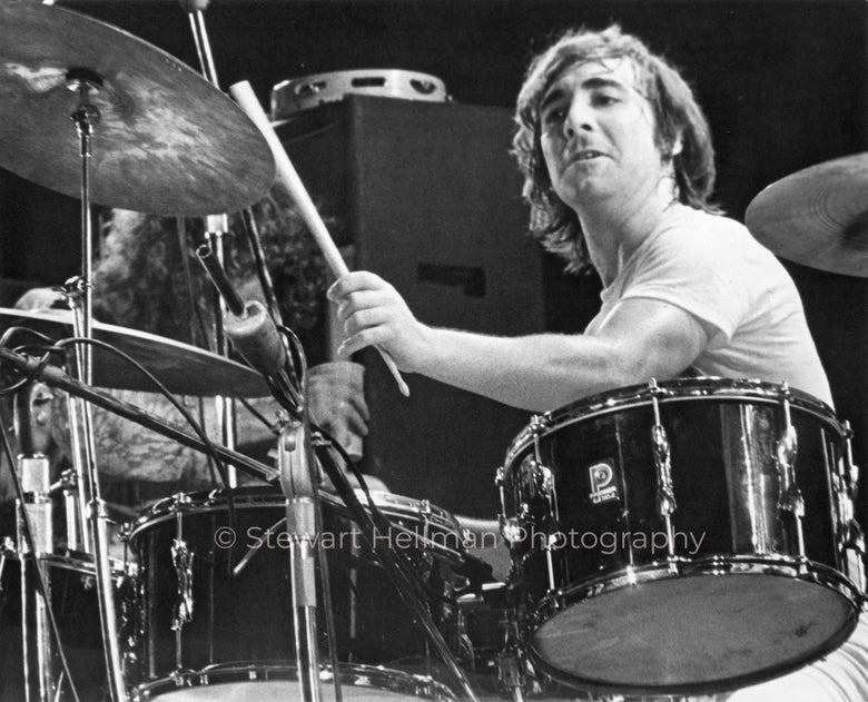 Image of Keith Moon/Roger Daltrey (The Who, Tanglewood Music Shed, 1970 : Limited Edition Fine Art Print #1