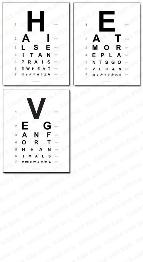 Image of Veg Life Eye Charts