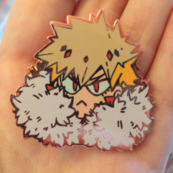 Image of Bakufloof enamel Pin