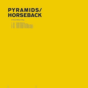 Image of Pyramids / Horseback ‎– A Throne Without A King