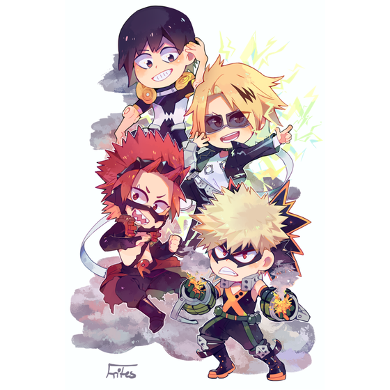 Image of [Preorder] Bakusquad Standee