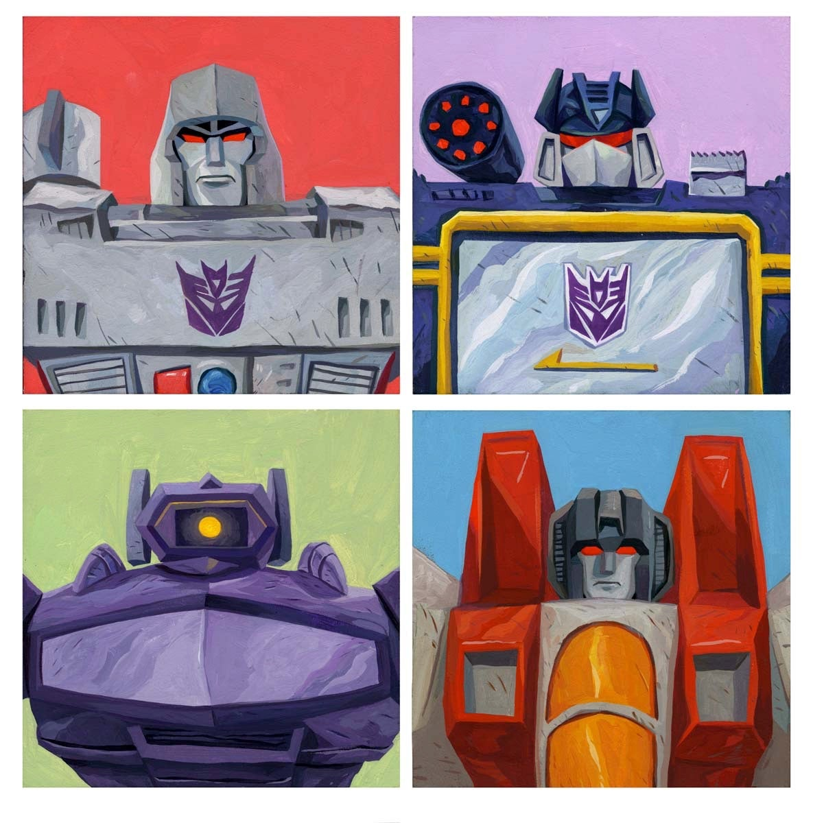 Image of Decepticon Print