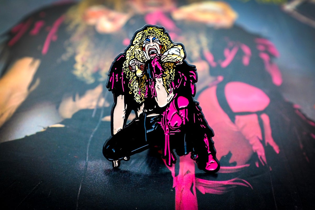 Image of Twisted Sister - Stay Hungry Enamel Pin