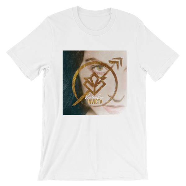 Image of Karolina Rose Invicta Album Art T-Shirt