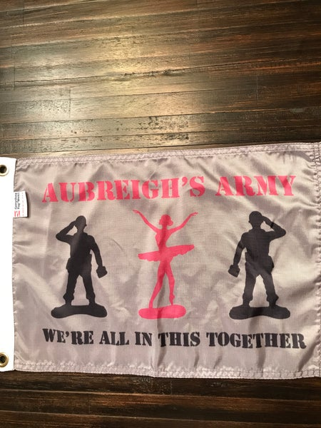 Image of Aubreigh's Army Boat Flag