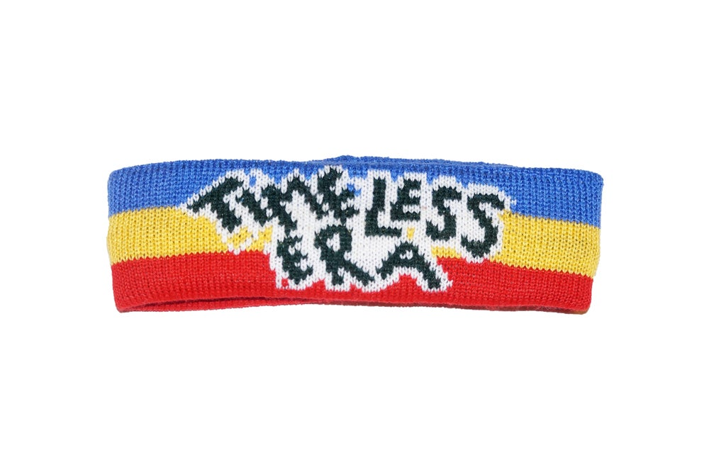 Image of Blue/Yellow/Red Headband