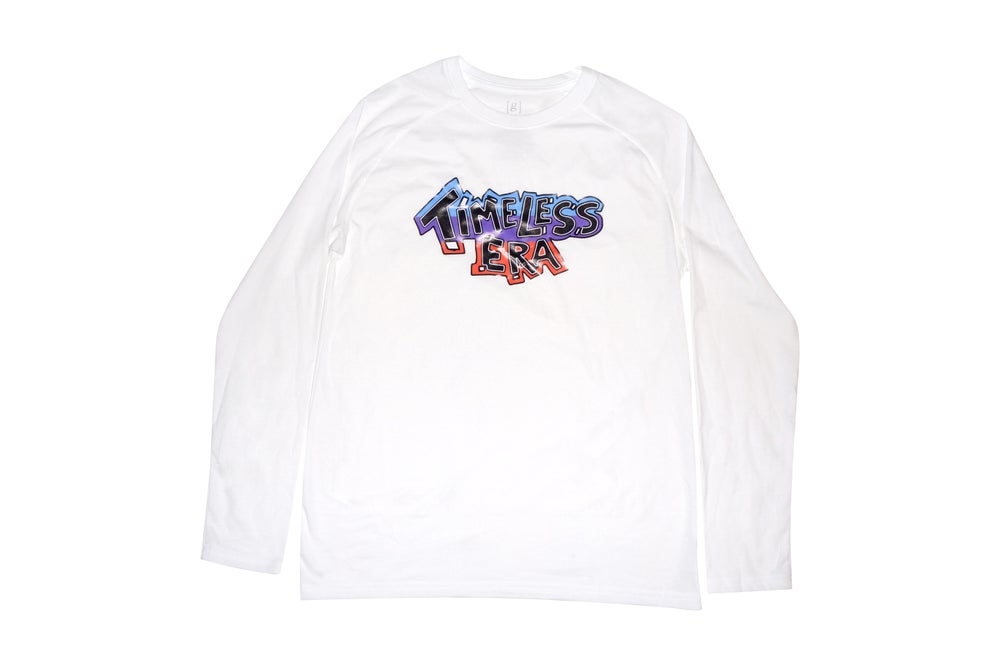 Image of Baby Blue/Purple/Orange Longsleeve Tee