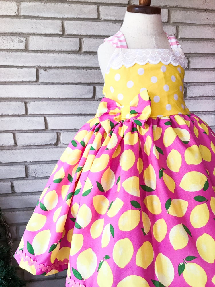 Image of Pink Lemonade Dress