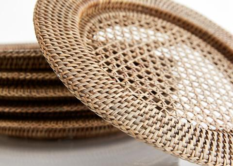 Image of Rattan Charger