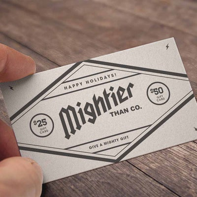 Image of Gift Card $25-$50 (+ FREE STICKERS)