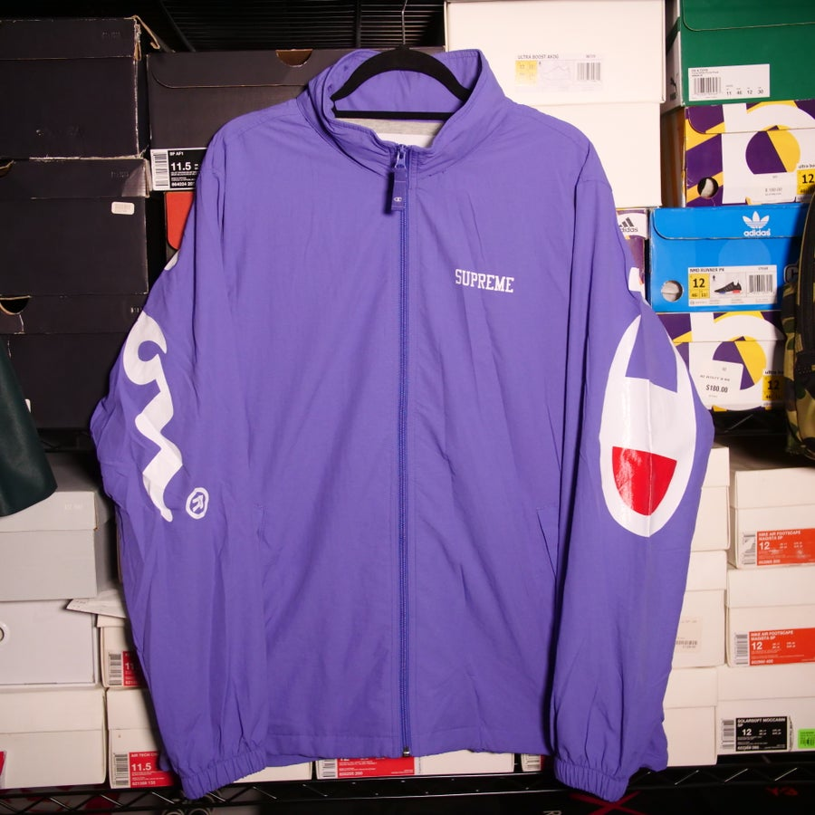 Image of Supreme X Champion Track Jacket