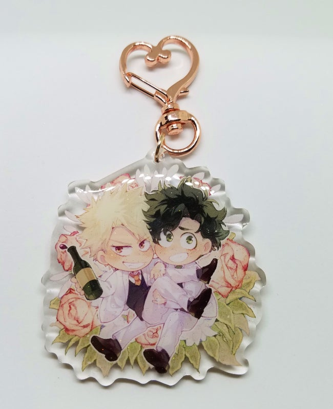 Image of Just Married charm