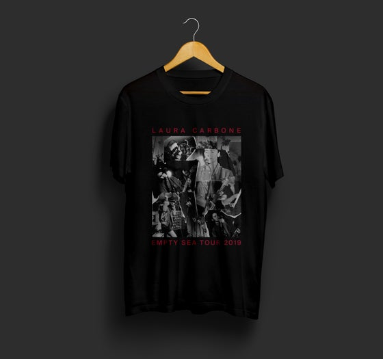 Image of EMPTY SEA TOUR COLLAGE Shirt