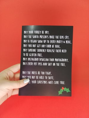 Image of Variety of XXX-MAS CARDS