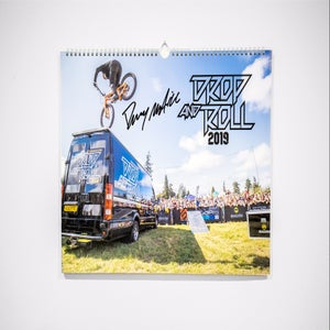 Signed Drop and Roll 2019 Poster Calendar