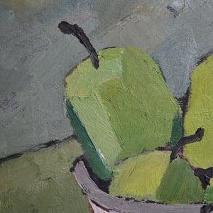 Image of Large, Mid Century Still Life, 'Apples' Eric Cederberg