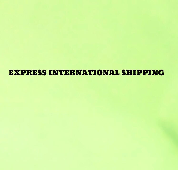 Image of Express shipping for international orders