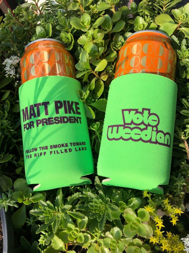 Image of VOTE WEEDIAN KOOZIE  4pk